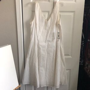 Jones New York size 16 white dress